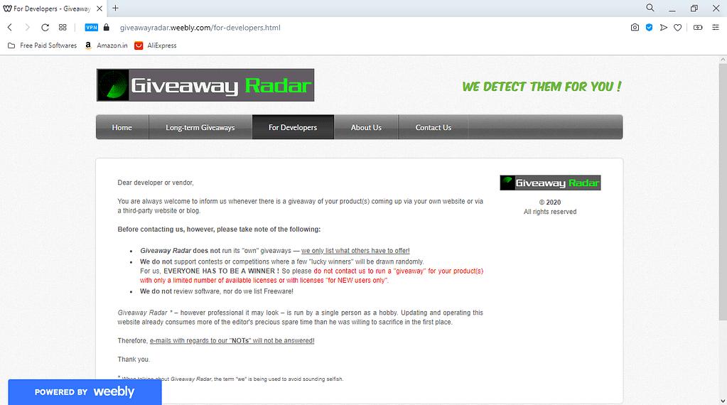 Radar_Developers_Page
