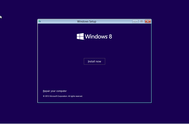 Install windows 8 install Page