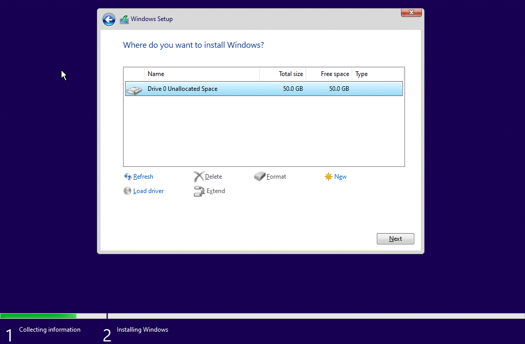How to Install Windows 10 Step 18