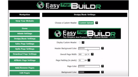 Easy Page Builder