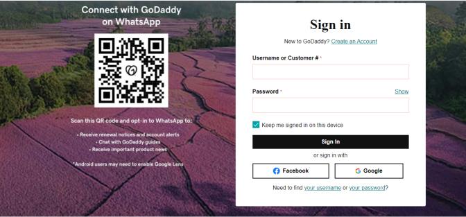 Domain name in Godaddy