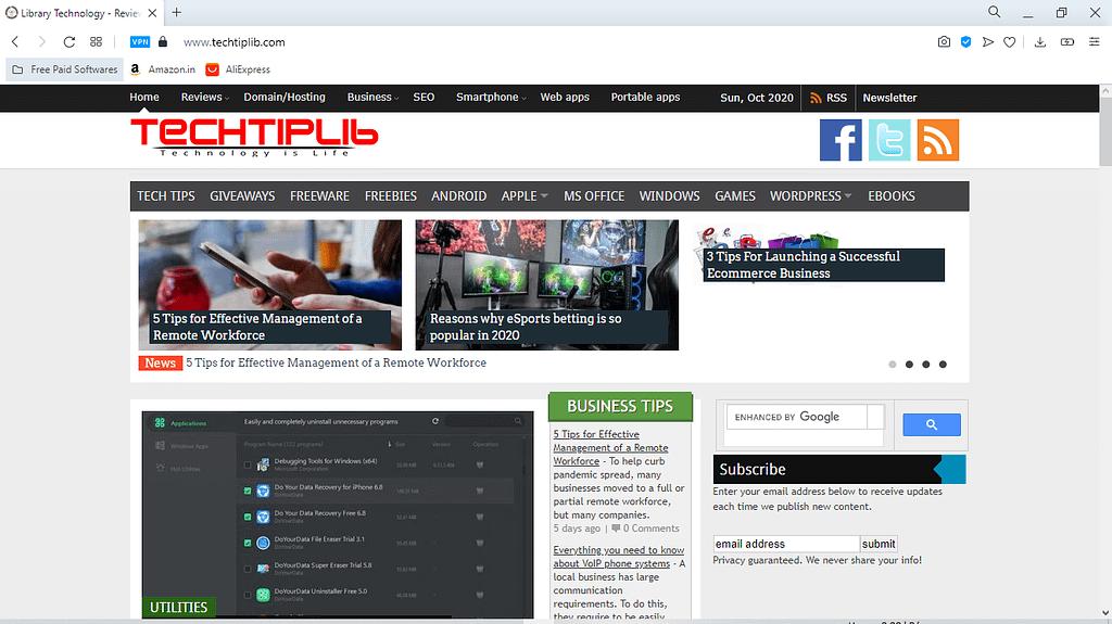 Techtiplib-Software