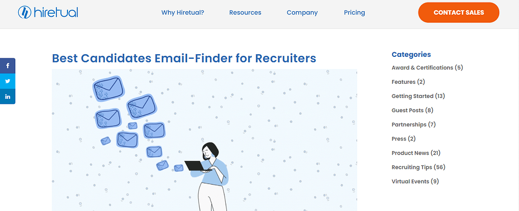Hiretual Email Finder Tool