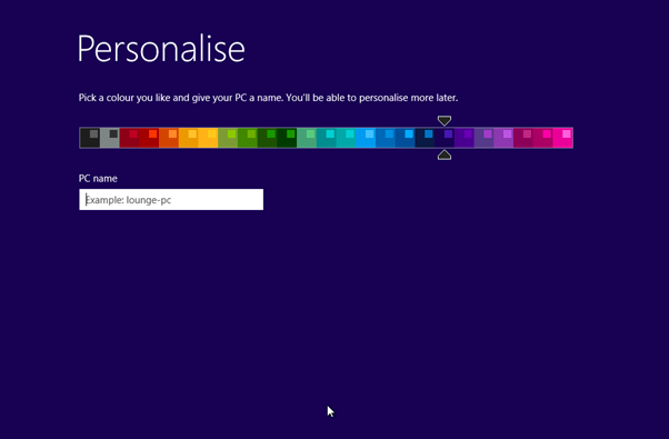 Install Windows 8 Final Page