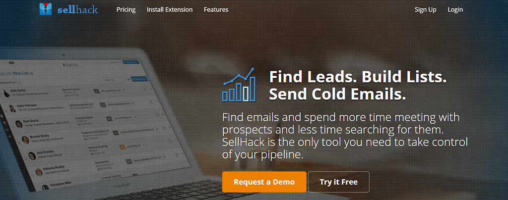 Sellhack Email Finder Tool