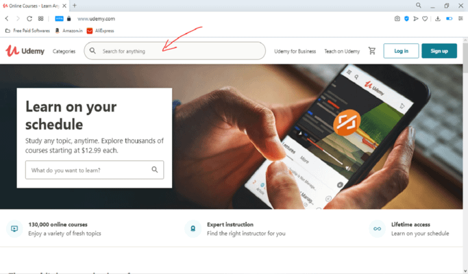 How to download Udemy paid courses Step-1